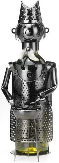 locker Weinflaschenhalter »Grillmeister«
