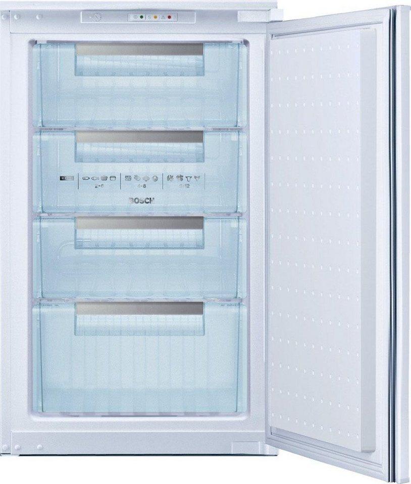 Einbaugefrierschränke  Bosch Einbau-Gefrierschrank GID18A30, Energieklasse A++, 88 cm ...