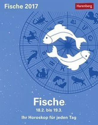 Kalender »Sternzeichenkalender Fische 2017«