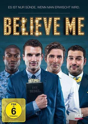 DVD »Believe Me - Es ist nur Sünde, wenn man...«