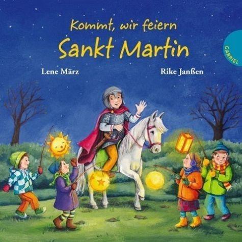 Buch mit Papp-Einband »Kommt, wir feiern Sankt Martin«