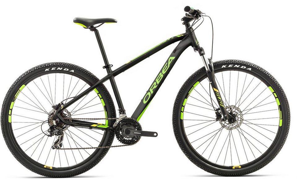 ORBEA Hardtail Mountainbike, 27,5 Zoll, 21 Gang Shimano TY300 Kettenschaltung, »MX 50« in schwarz-grün-gelb