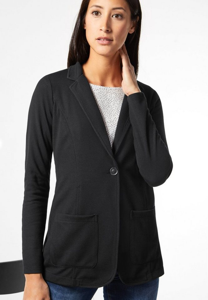 Street One Jerseyblazer Hanne in Black