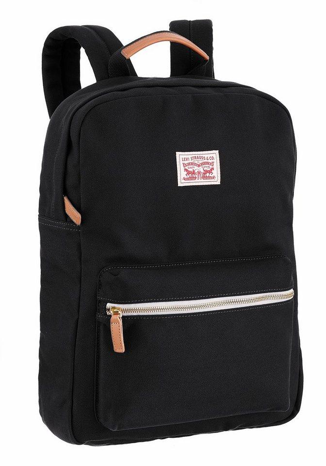 Levi's® Cityrucksack in schwarz