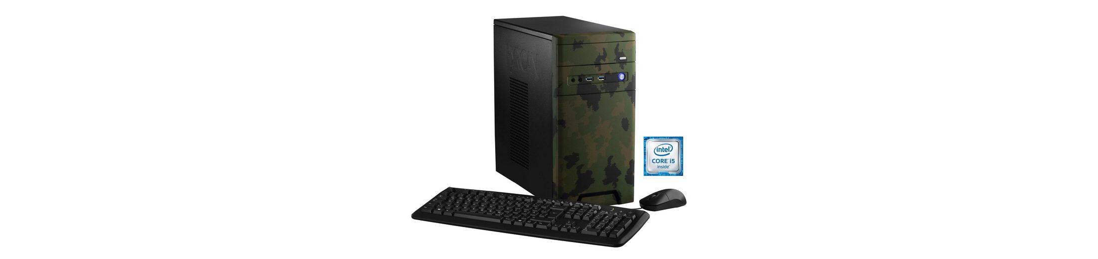 Hyrican Gaming PC Intel® i5-6600, 16GB, SSD + HDD, GeForce® GTX 1060 »CyberGamer forest 5366 «