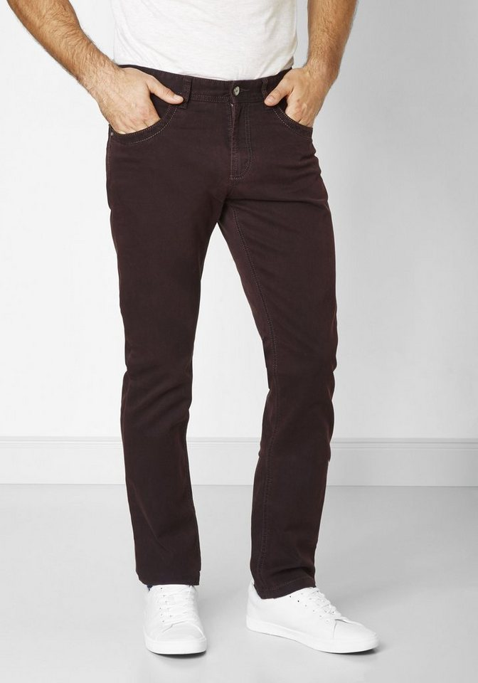 Redpoint 5-Pocket »Barrie« in plum