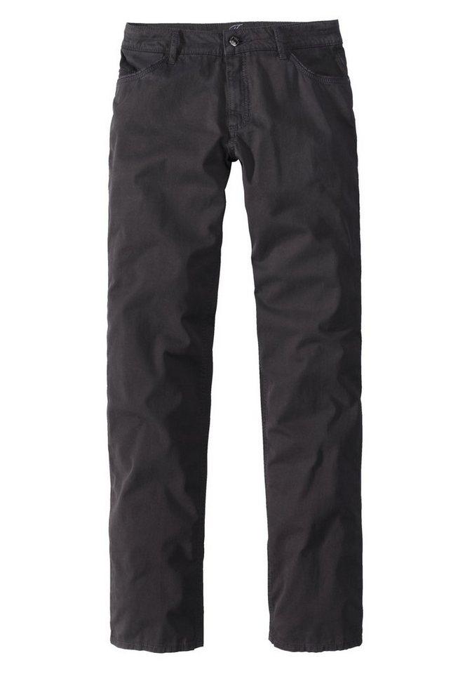PADDOCK'S 5-Pocket Stretch Jeans »TRACY« in black