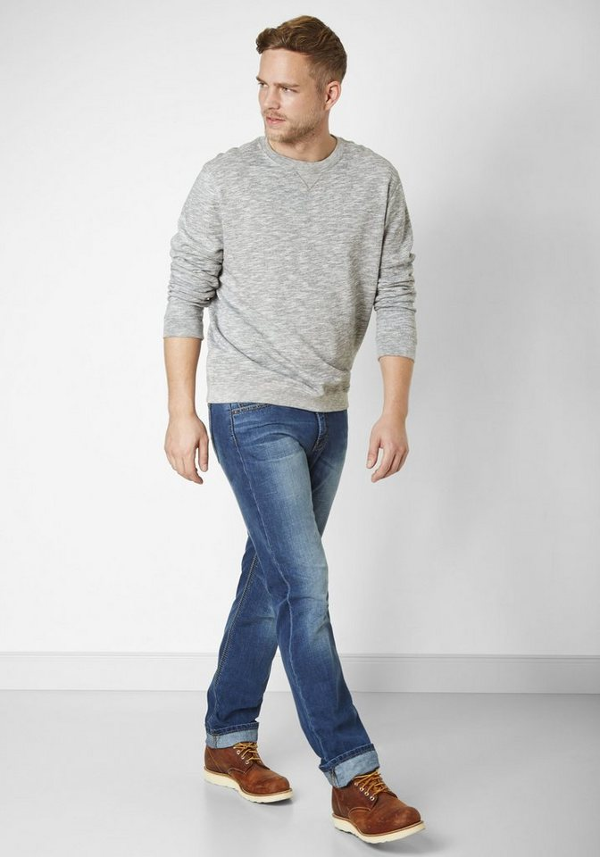 PADDOCK'S Jeans Saddle Stitch »CARTER« in medium blue using