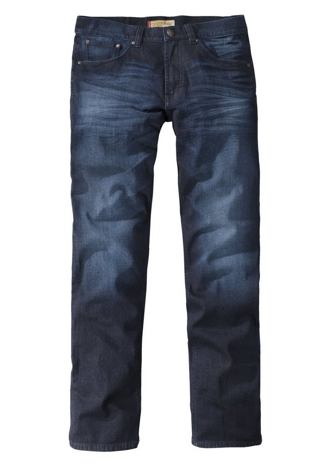 PADDOCK'S Jeans »CARTER« in blue rinse used