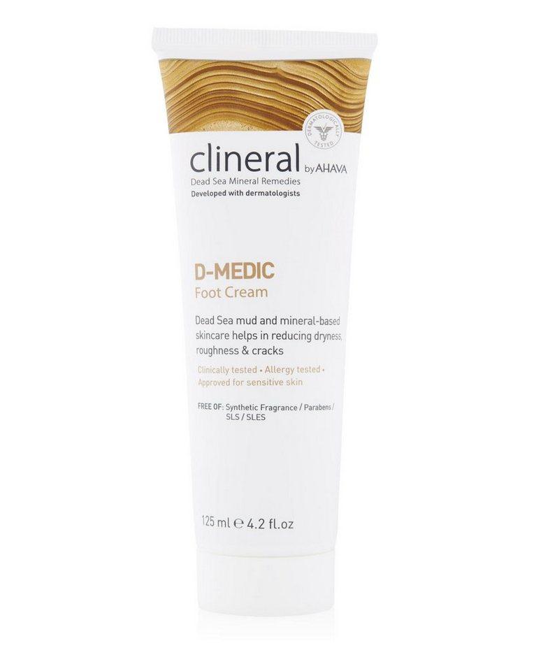clineral Fußcreme »D-MEDIC«