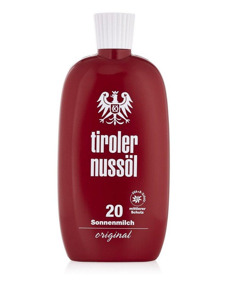 Tiroler Nussöl Sonnenmilch »Original LSF 20«