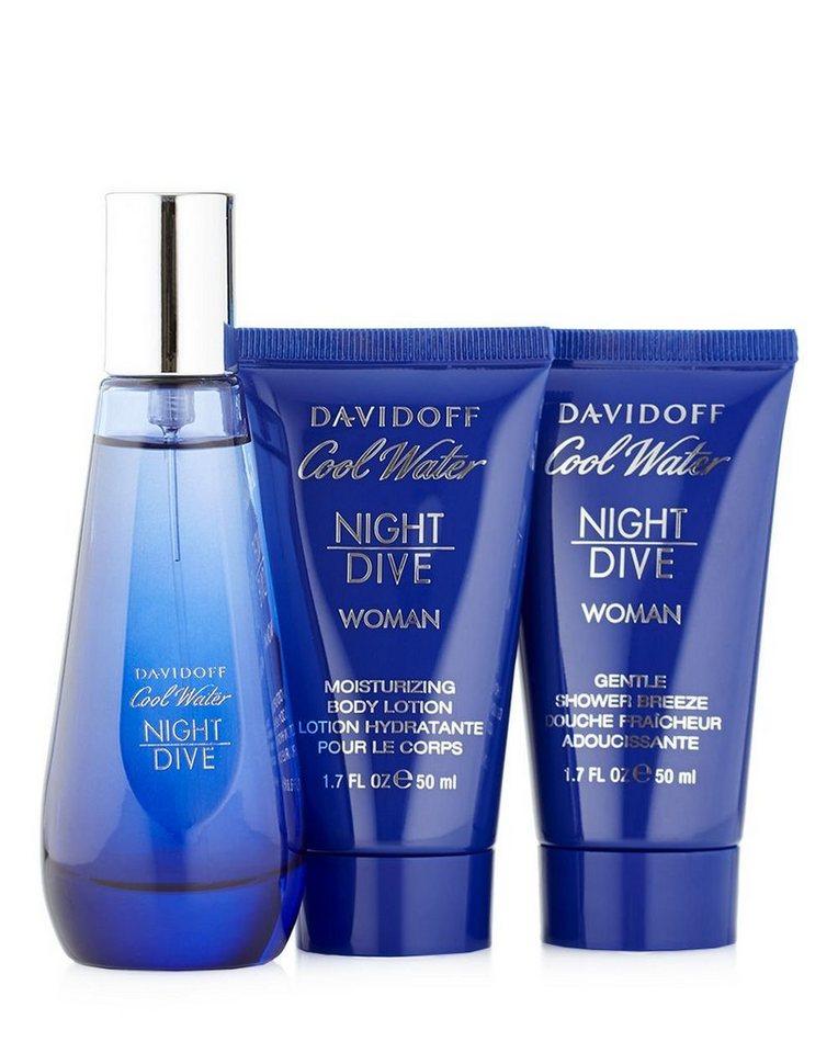 Davidoff Parfum-Set »Cool Water Night Dive Woman«