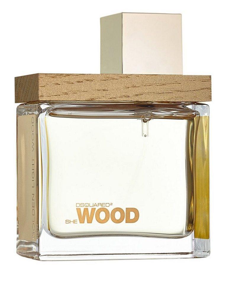 Dsquared2 Eau de Parfum »She Wood Golden Light Wood«