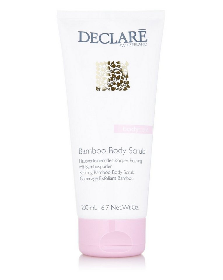 Declaré Körperpeeling »Body Care Bamboo Body Scrub«