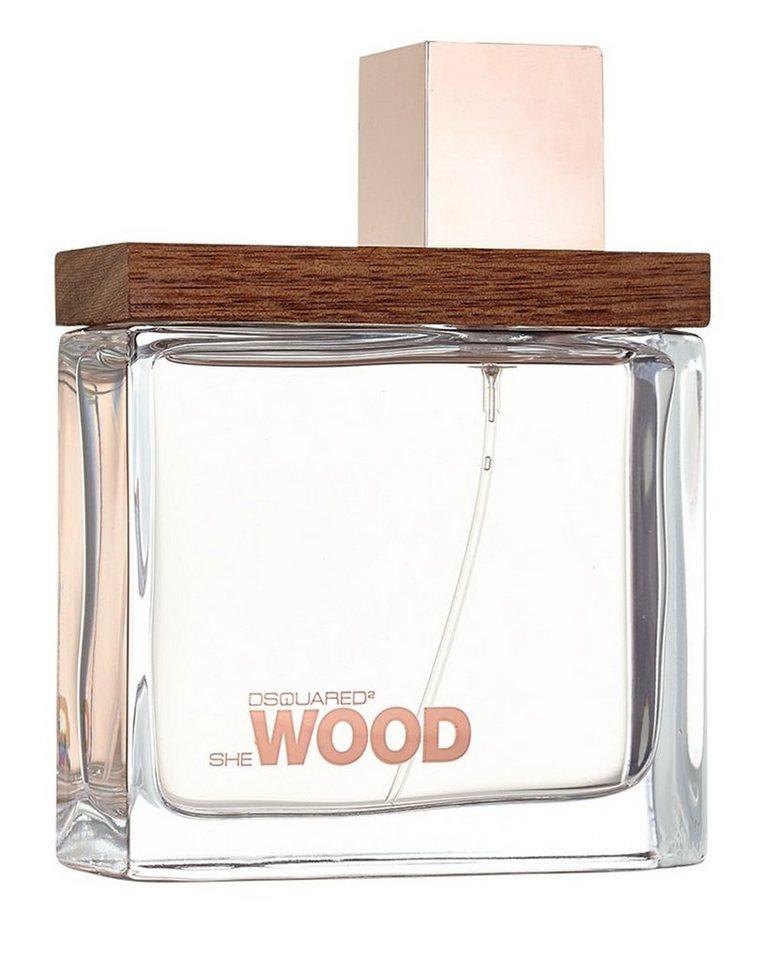 Dsquared2 Eau de Parfum »She Wood«