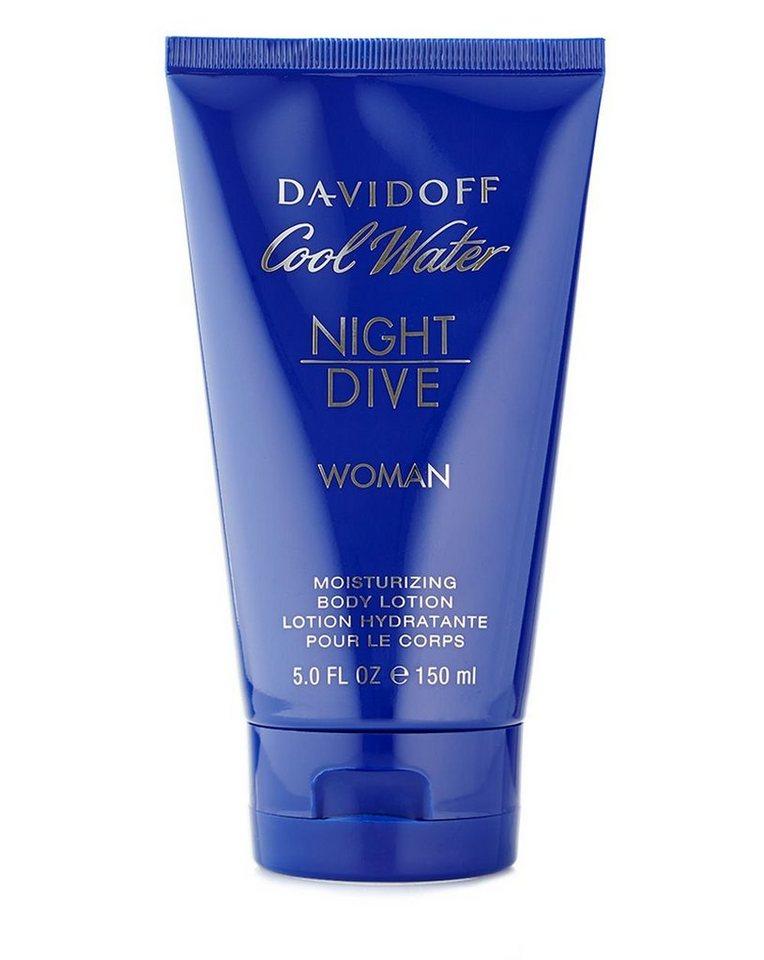 DAVIDOFF Bodylotion »Cool Water Night Dive Woman«