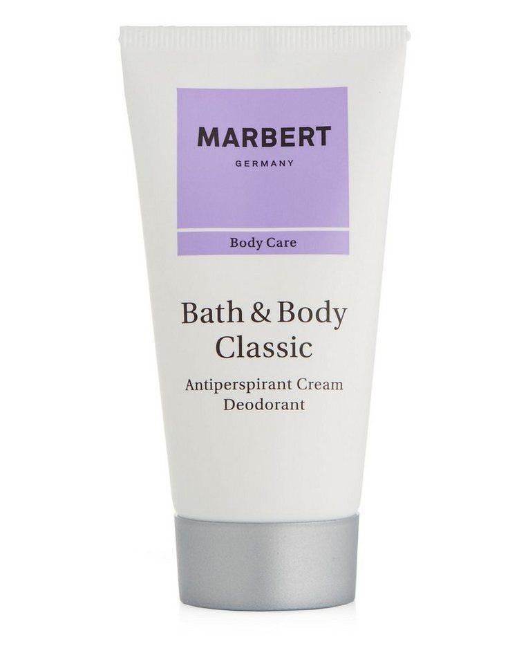 Marbert Deo-Creme »Bath & Body Classic«