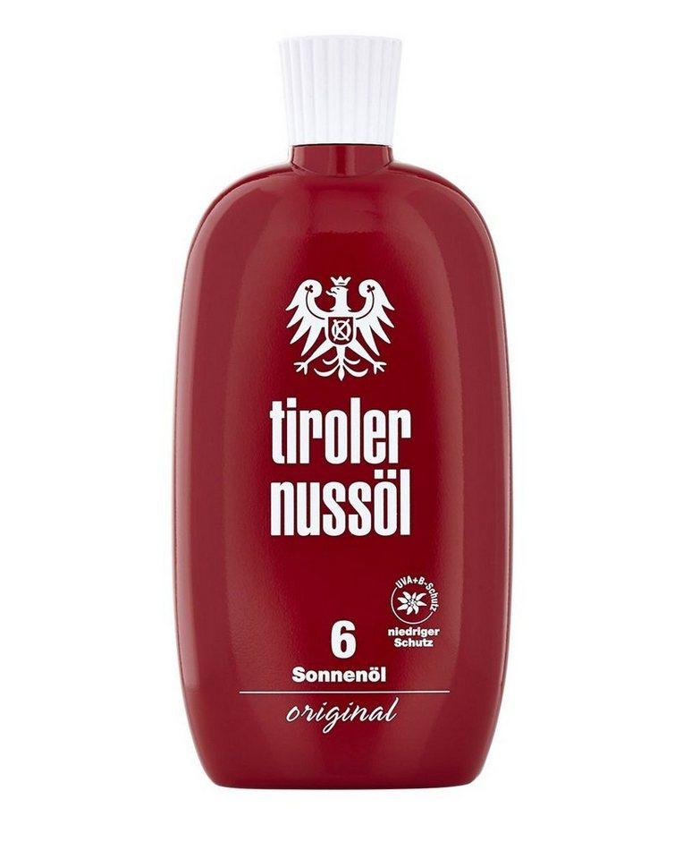Tiroler Nussöl Sonnenöl »Original LSF 6«