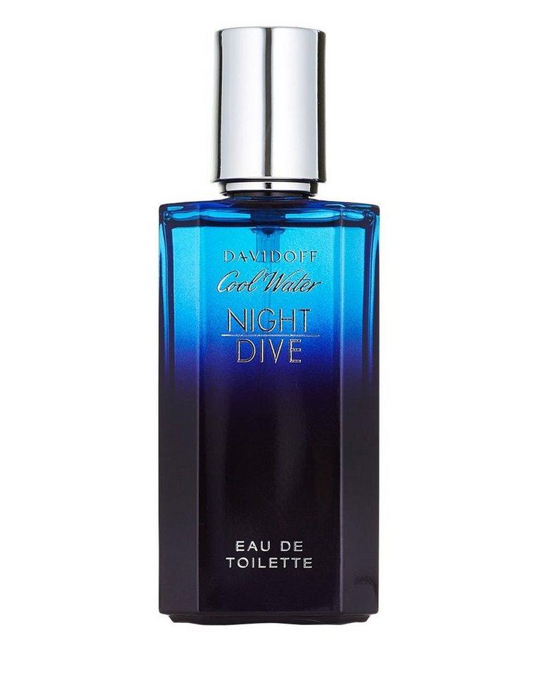 DAVIDOFF Eau de Toilette »Cool Water Night Dive«