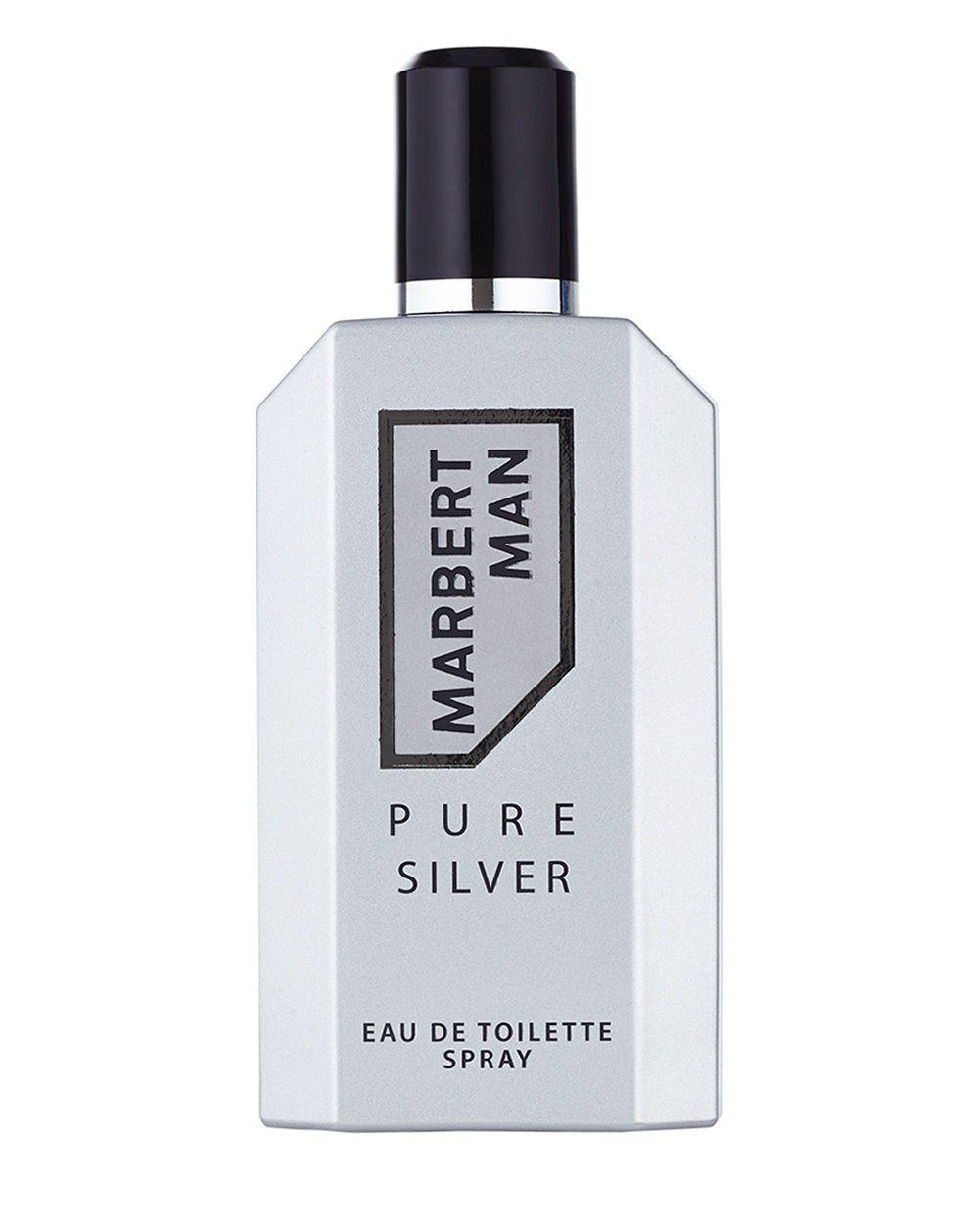 Marbert Eau de Toilette »Man Pure Silver«