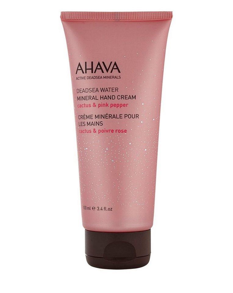Ahava Handpflege »Mineral Hand Cream Cactus & Pink Pepper«