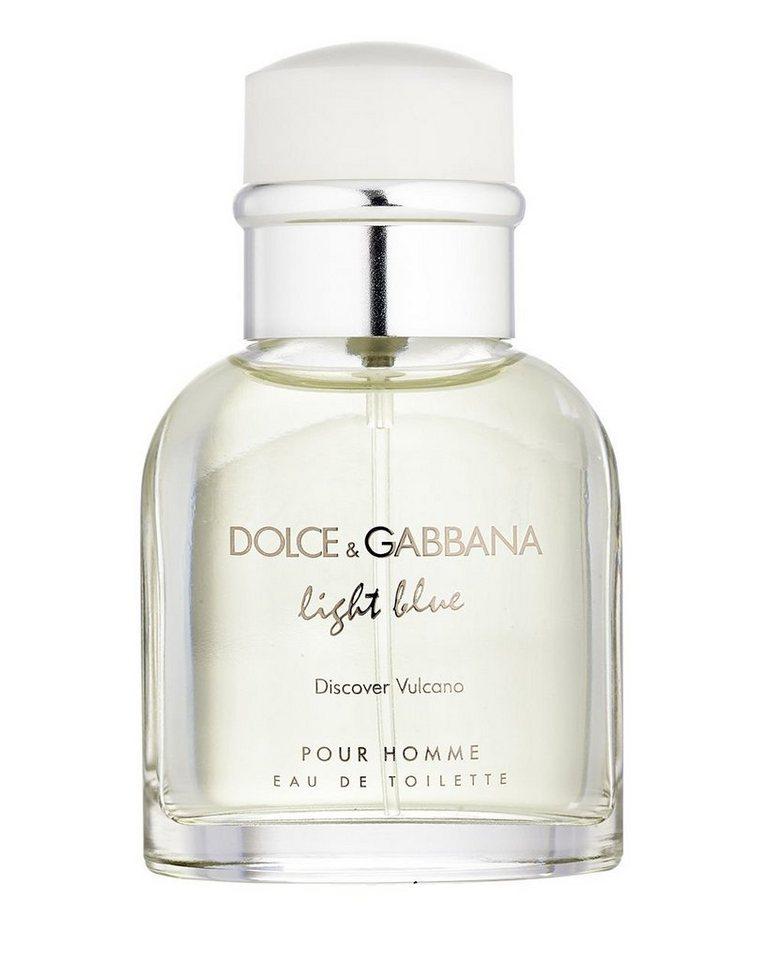 DOLCE&GABBANA Eau de Toilette »Light Blue Pour Homme Discover«