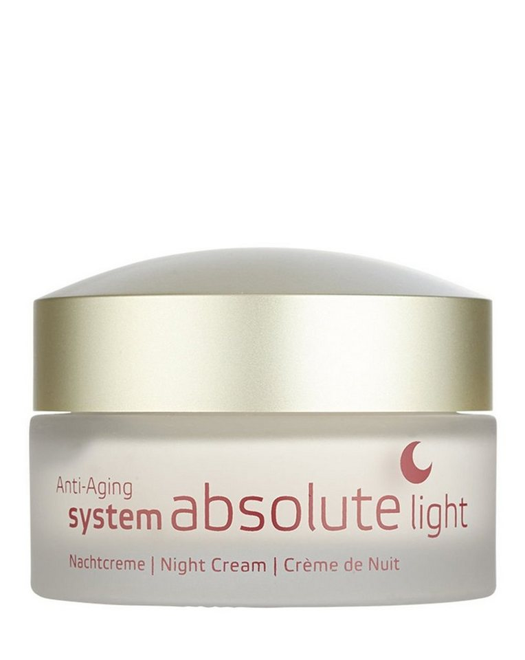 Annemarie Börlind Nachtpflege »System Absolute Light«