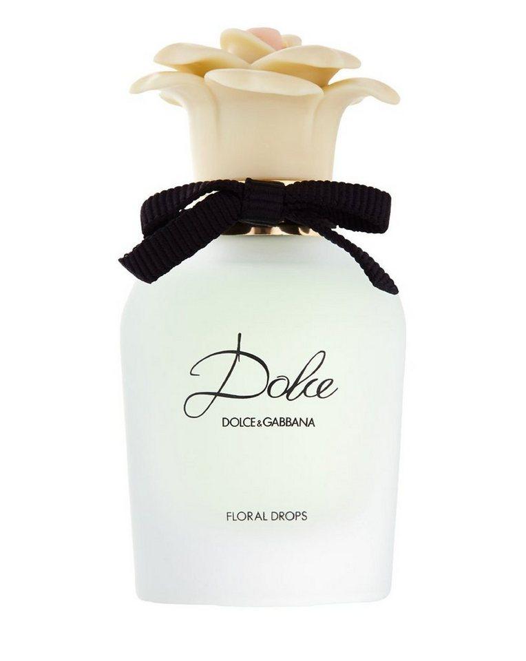 DOLCE&GABBANA Eau de Toilette »Dolce Floral Drops«