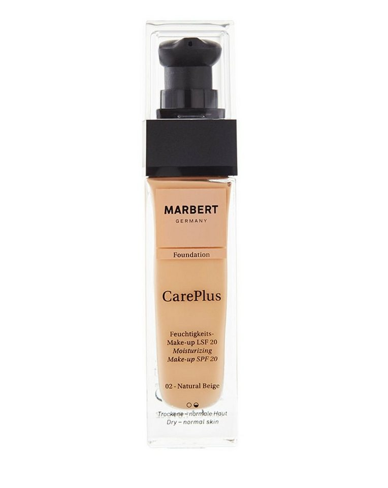 Marbert Foundation »Care Plus« in 02 Natural Beige