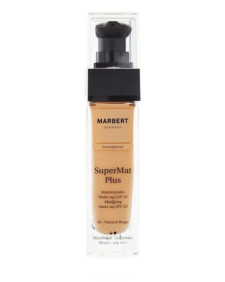 Marbert Foundation »Super-Mat Plus Foundation« in 02 Natural Beige