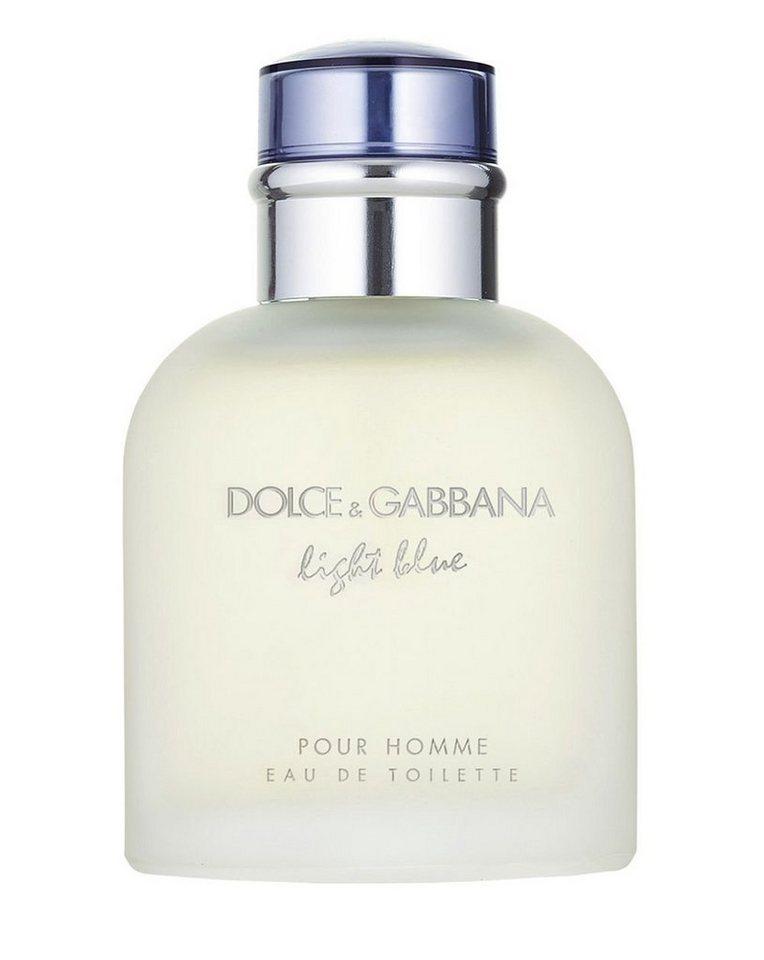 DOLCE&GABBANA Eau de Toilette »Light blue Pour Homme«