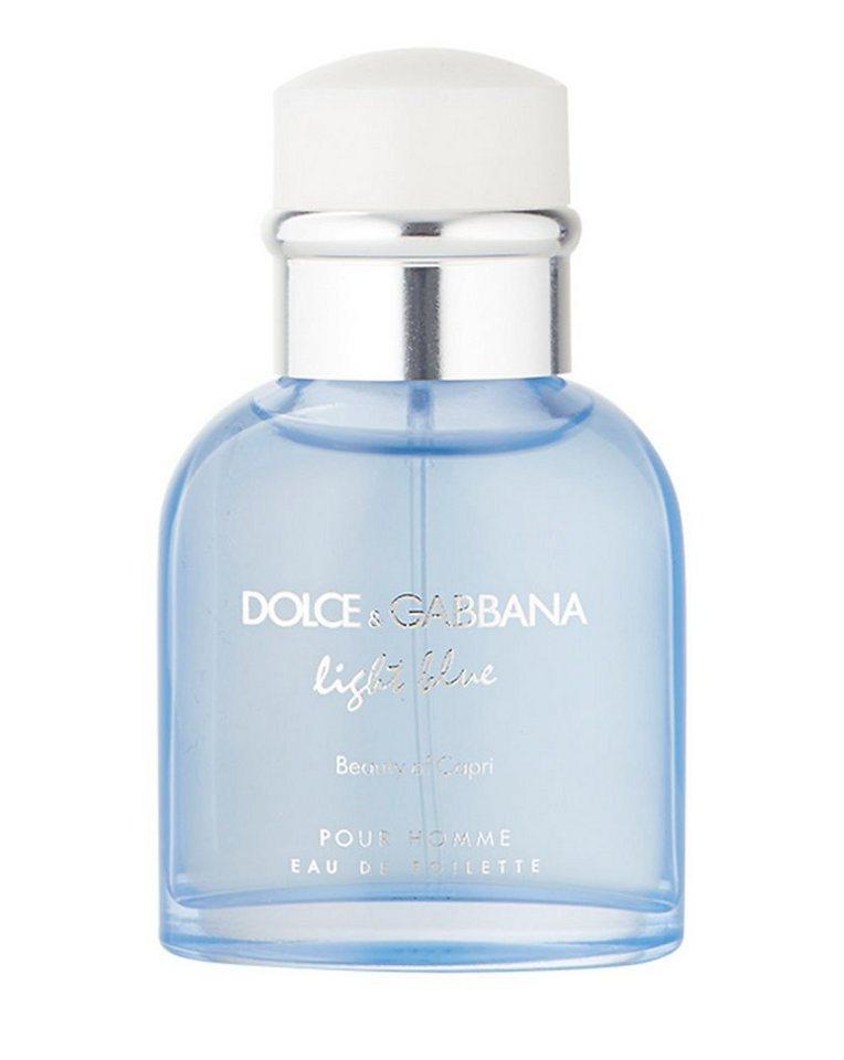 DOLCE&GABBANA Eau de Toilette »Light Blue Beauty of Capri«