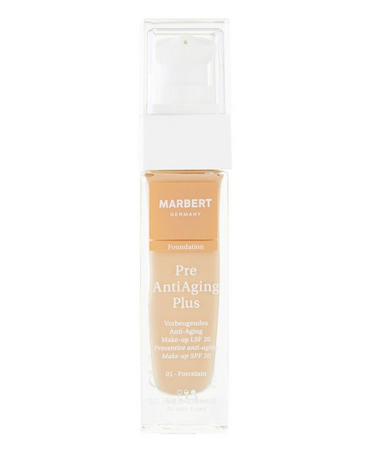 Marbert Foundation »Pre Anti Aging Plus« in 01 Porcelain