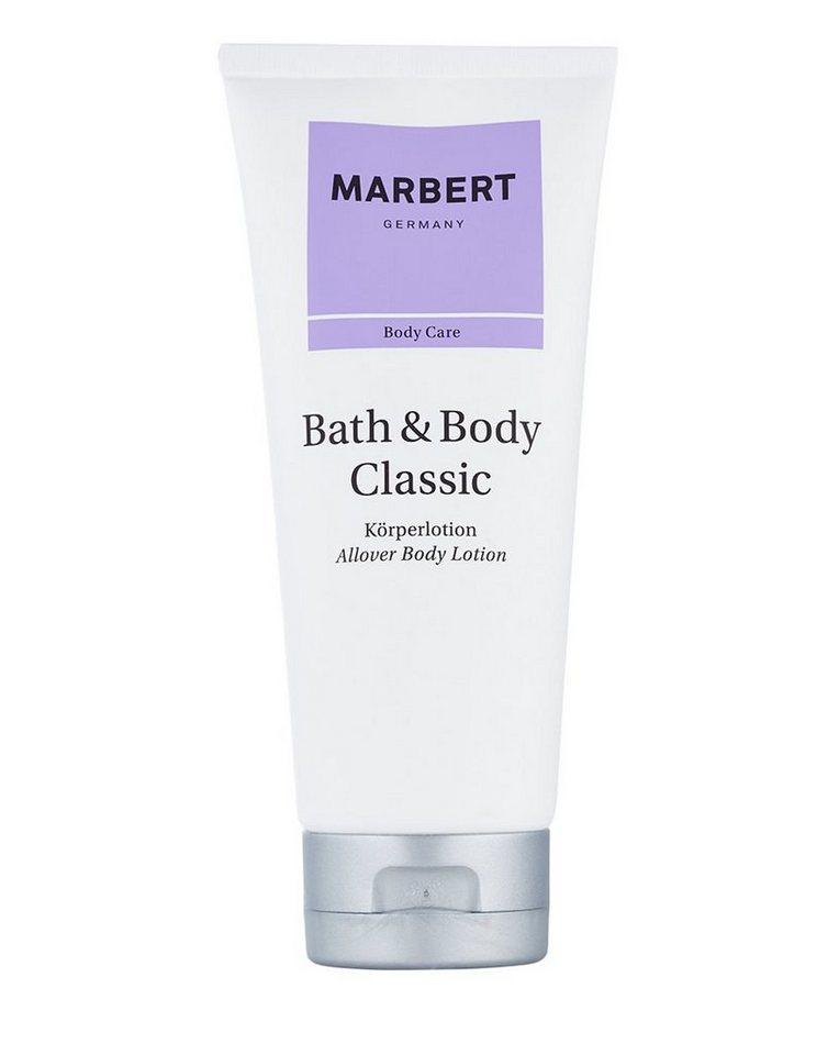 Marbert Bodylotion »Bath & Body Classic«