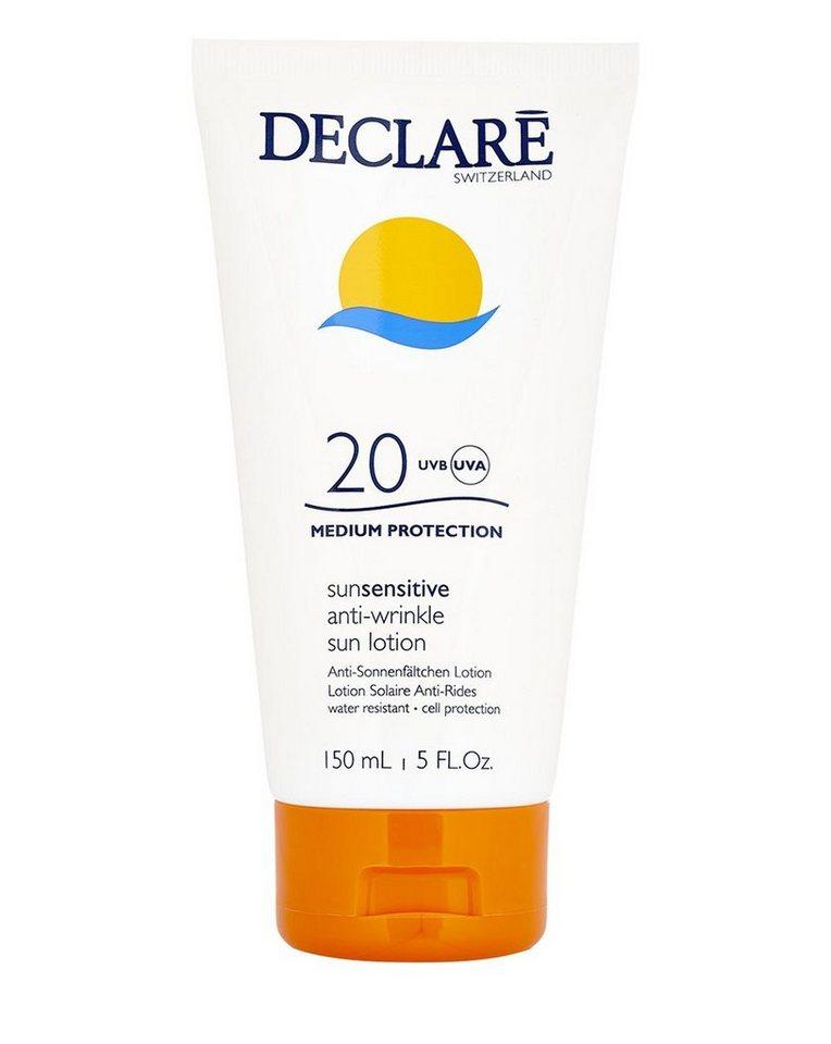 Declaré Sonnenmilch »SunSensitive Anti-Wrinkle SPF 20«