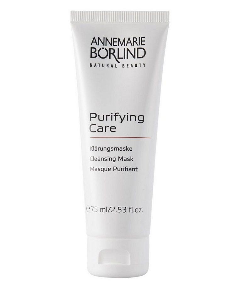 Annemarie Börlind Gesichtsmaske »Purifying Care«