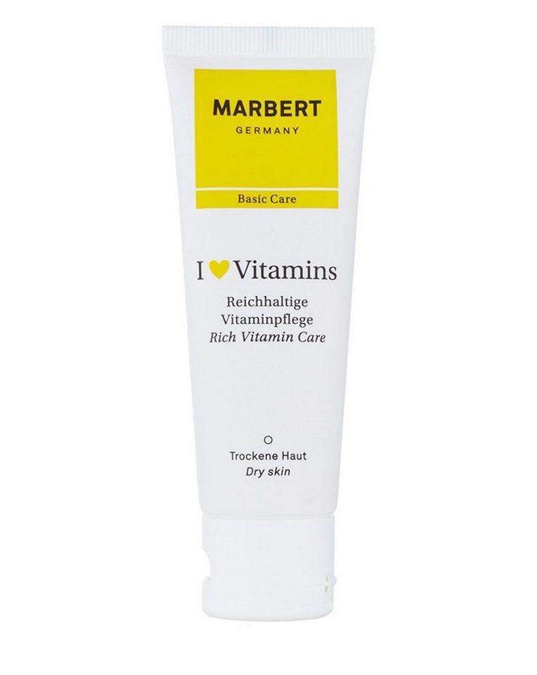 Marbert Gesichtscreme »I love Vitamins Dry Skin«
