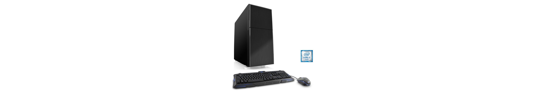 CSL Gaming PC | Core i7-6700 | GeForce GTX 1070 | 16 GB RAM | SSD »Speed T7698 Windows 10 Home«