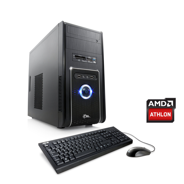 CSL Multimedia PC | Athlon 5350 | HD 8400 | 8 GB RAM »Sprint T2212 Windows 10 Home«
