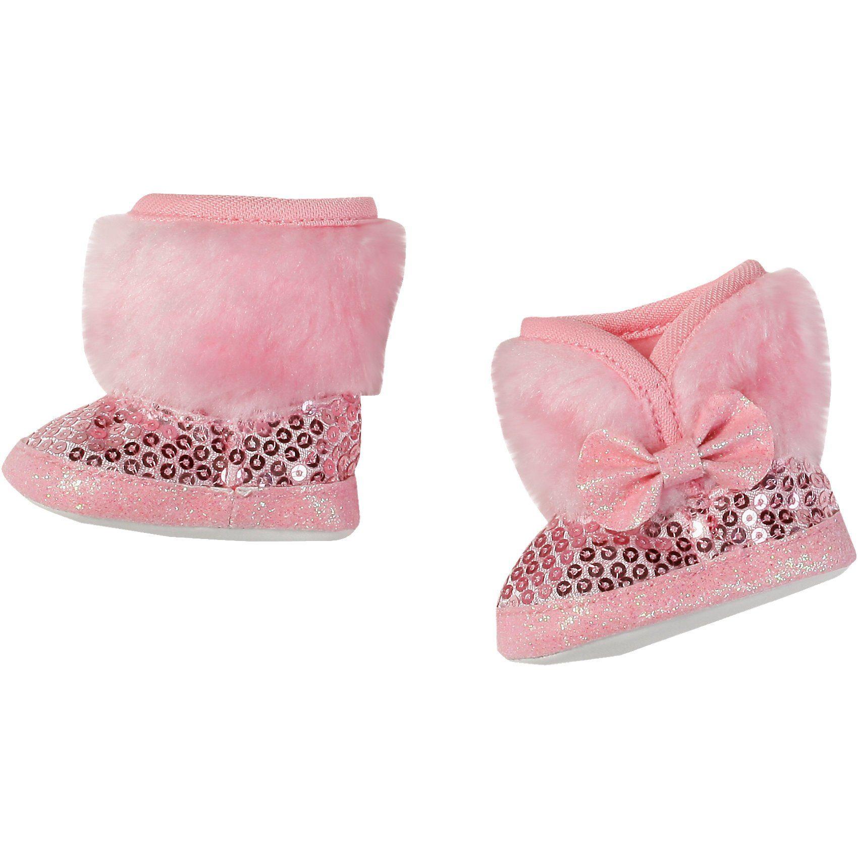 Zapf Creation BABY born® Puppenkleidung Winterstiefel pink