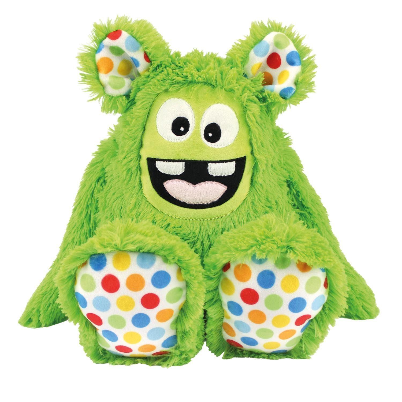 "Kullaloo Nähset Zottel-Monster ""MemoMonsti"", grün"