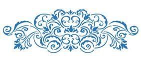 "Stamperia Schablone ""Akantus"" 38x15 cm"