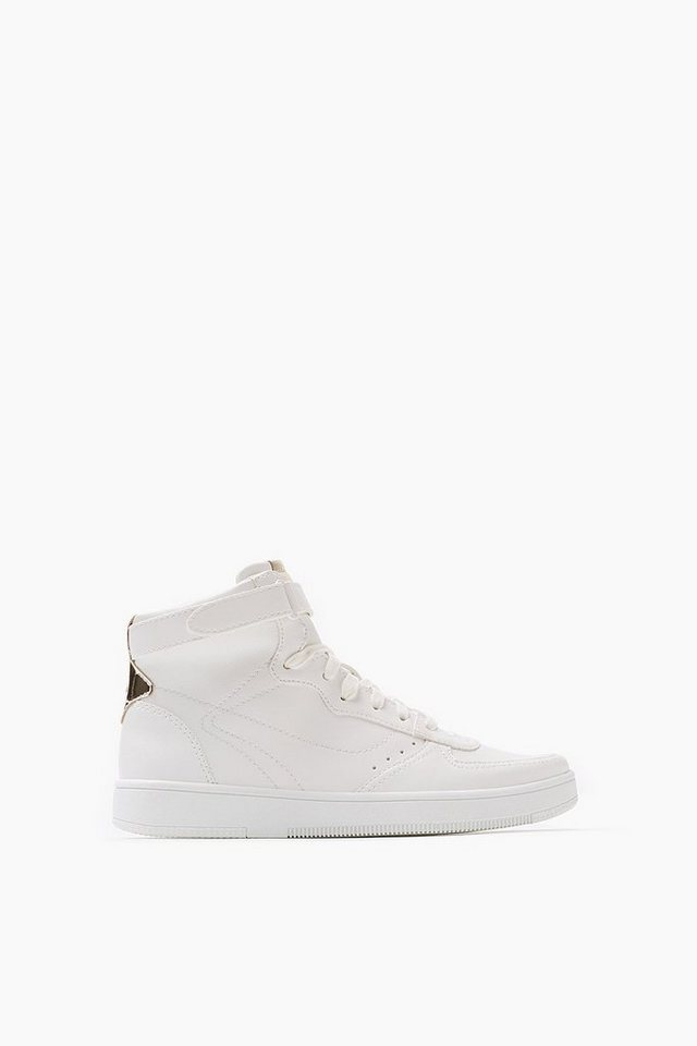 ESPRIT CASUAL High Top Sneaker mit Glanz-Detail in WHITE