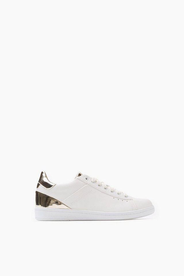 ESPRIT CASUAL Trend-Sneaker mit Glanz-Detail in WHITE