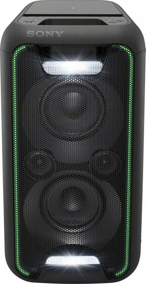Sony GTK-XB5 Party Soundsystem (200 Watt, extra Bass, High Power, Bluetooth, NFC ) in schwarz