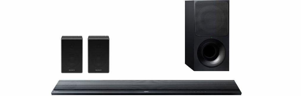 Sony HT-RTZ7 4.1 Heimkinosystem (Multiroom, Bluetooth, NFC, drahtloser Subwoofer)