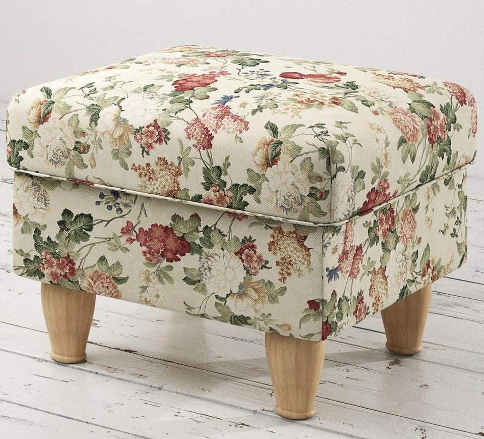 Home affaire Hocker »Flair« in Blume rot