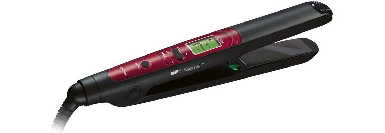 Braun, Haarglätter ST 750 Satin Hair 7, mit IONTEC & Colour Saver