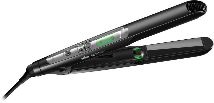 Braun Haarglätter ST 710, Satin Hair 7 mit Iontec Technologie in schwarz/silber