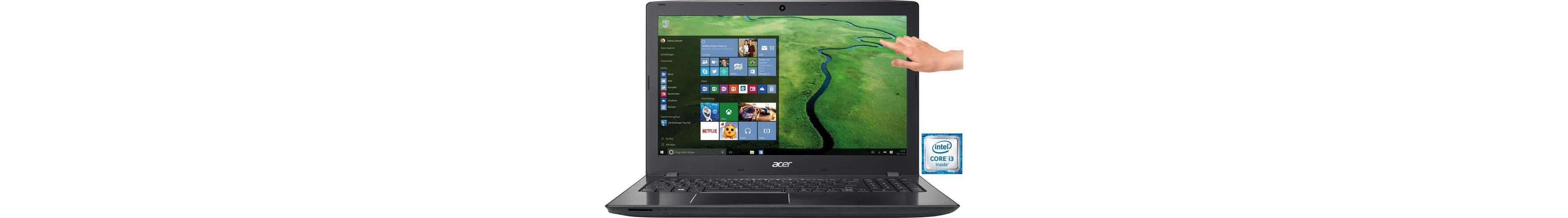 Acer E5-575T-35A3 Notebook, Intel® Core™ i3, 39,6 cm (15,6 Zoll), 1000 GB Speicher, 8192 MB DDR4-RAM